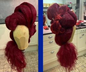 Haarwerk - Rood